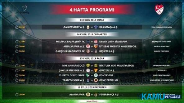 Süper Lig'de Derbi Tarihleri Belli Oldu! Galatasaray - Fenerbahçe ve Trabzonspor - Beşiktaş derbisi