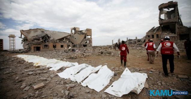 Suudi Arabistan Yemen'e son dakika hava saldırı düzenledi! En az 100 kişi öldü