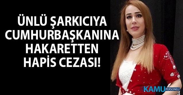 Türk asıllı Alman şarkıcı Saide İnaç'a Cumhurbaşkanına hakaretten hapis cezası verildi