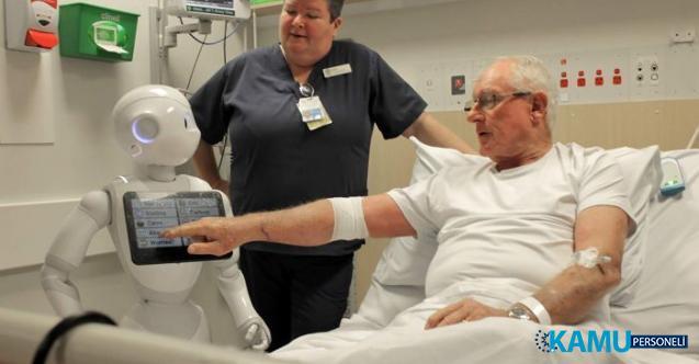 Hastanelere Mobil Robot Hemşireler Geliyor! Türk Bilim İnsanları Harekete Geçti