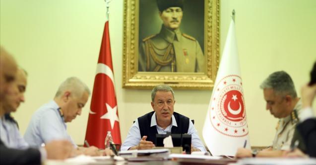 Akar 4 ülkenin savunma bakanı ile görüştü: Türkiye'nin hedefini açıkladı!