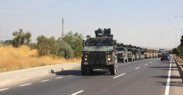 Barış Pınarı Harekatı İçin Büyük Hareketlilik: 100 Araçlık Konvoy Sınıra Yöneldi