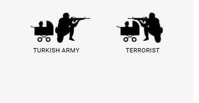 Bebek katili PKK sosyal medyanın gündemine oturdu!