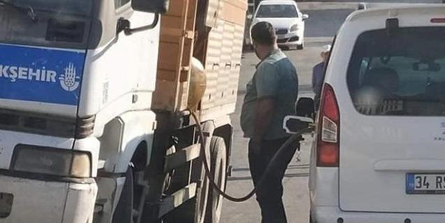 Flaş İddia: İBB'ye Ait Araçtan Şahsi Araca Yakıt İkmali Yapıldı