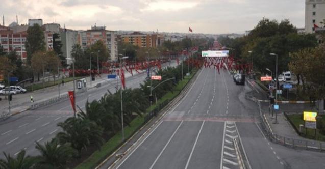 İstanbul'da 20 Ekim'de trafiğe kapalı yollar
