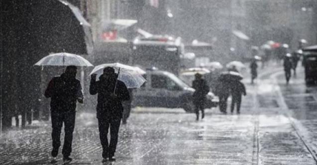 Meteoroloji son dakika uyarısı yaptı!  Sağanak yağış geliyor!