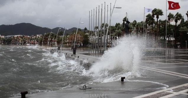 Meteoroloji Uyardı Yağış Başladı ! Yurdun Yarısını Etkisi Altına Alacak ! İşte İllere Göre Hava Durumu
