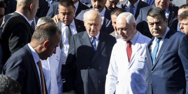 MHP Lideri Bahçeli'nin Sağlık Durumuna İlişkin Yeni Açıklama Geldi