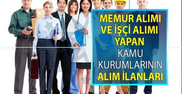 İŞKUR 27 kamu kurumu ve belediyenin iş ilanlarını yayınlandı! KPSS'siz 318 personel alımı yapılacak!