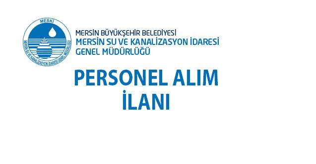 Mersin Büyükşehir Belediyesi 07 Kasım'da 31 personel alımı yapacak!