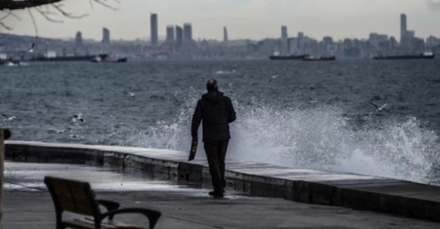 Meteoroloji'den İstanbul İçin Sarı Uyarı Verildi ! Fırtına, Şiddetli Yağış, Sel ve Şimşek Uyarısı