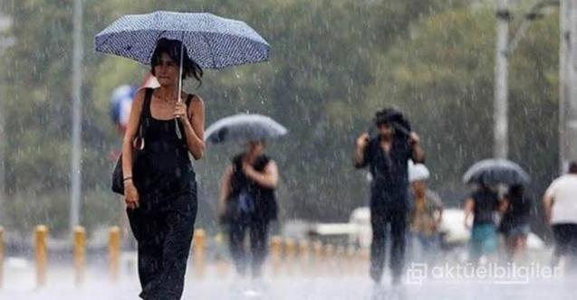 Meteoroloji Saat Vererek Uyardı ! Şiddetli Sağanak Yağış Geliyor