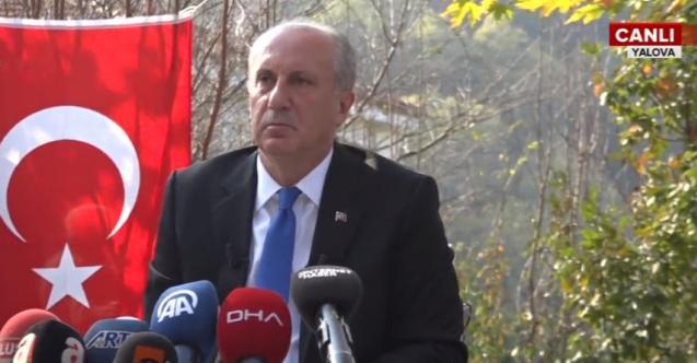 Muharrem İnce'den 'Beştepe'ye giden CHP'li' iddiası hakkında flaş açıklama