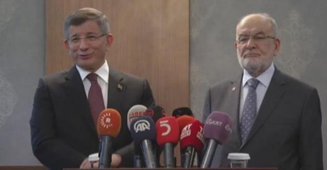 Son dakika: Davutoğlu'ndan flaş yeni parti açıklaması!