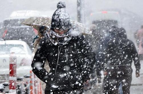Birçok İl İçin Yoğun Kar Yağışı Geliyor ! Meteoroloji Uyardı: Donacağız