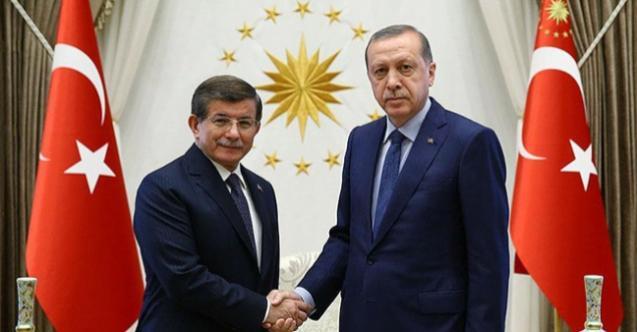 Cumhurbaşkanı Erdoğan'ın açıklamalarına Davutoğlu'ndan karşılık geldi