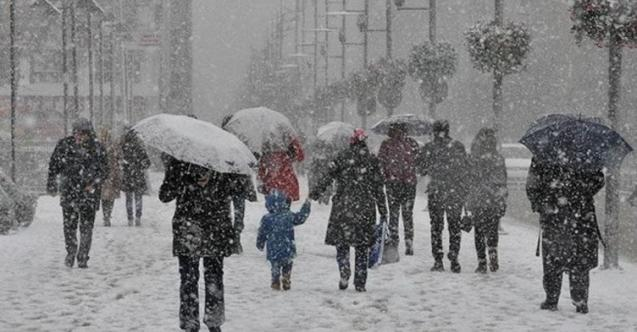 Meteoroloji'den Kar Yağışı Uyarısı Geldi ! İşte Şiddetli Yağmur ve Kar Yağışı Beklenen İller