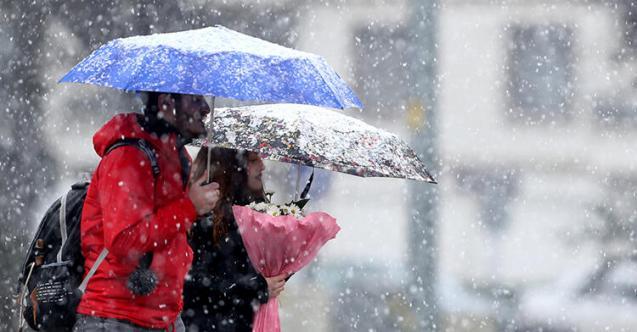 Meteoroloji'den Yoğun Kar Yağışı Uyarısı Geldi