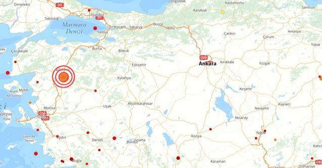 Son dakika deprem oldu! Balıkesir'de korkutan deprem!