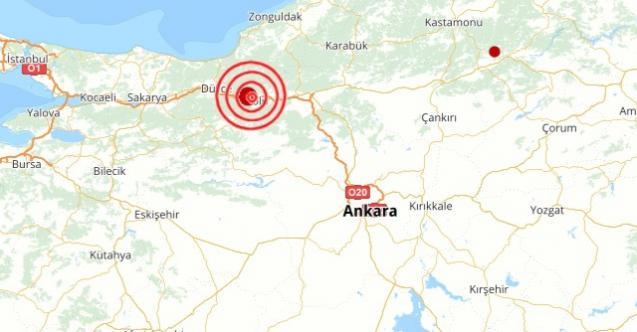 Son dakika peş peşe deprem: Bolu'da da deprem oldu!