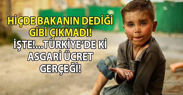 Türkiye, Avrupa Birliği ülkeleri içinde en düşük asgari ücrete sahip 4 ülkeden biri oldu!