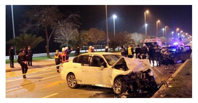 Alkollü sürücü İstanbul'da dehşet saçtı!