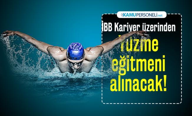 İBB Kariyer üzerinden Yüzme eğitmeni alınacak!