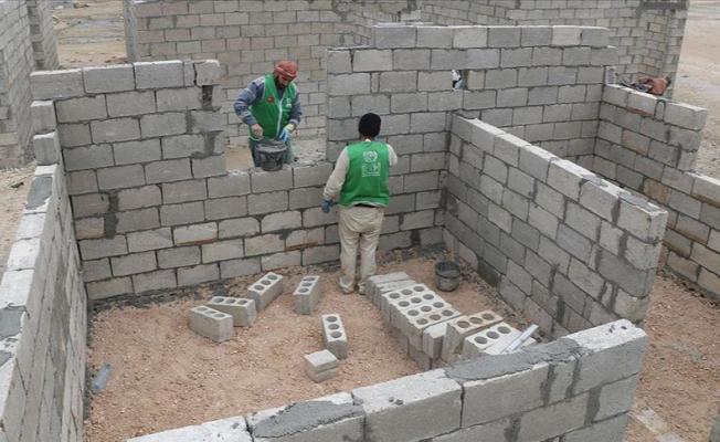 İdlib'te 4 bin'den fazla briket ev inşa edilecek!