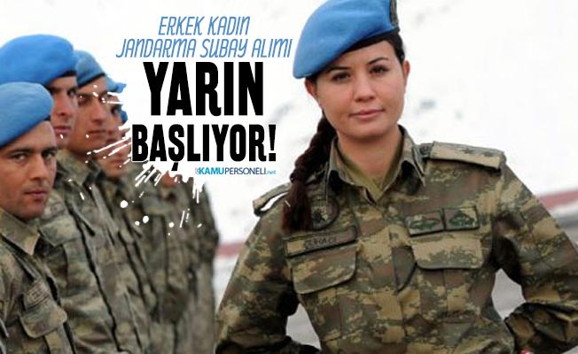 Jandarma subay alımı 2020 yarın başlıyor! Erkek kadın Jandarma subay alımı başvuru şartları belli oldu!