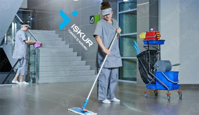 Kamu ve özele toplam 1400 temizlik personeli alımı yapılacak! Peki hangi şehirlerden personel alınacak?