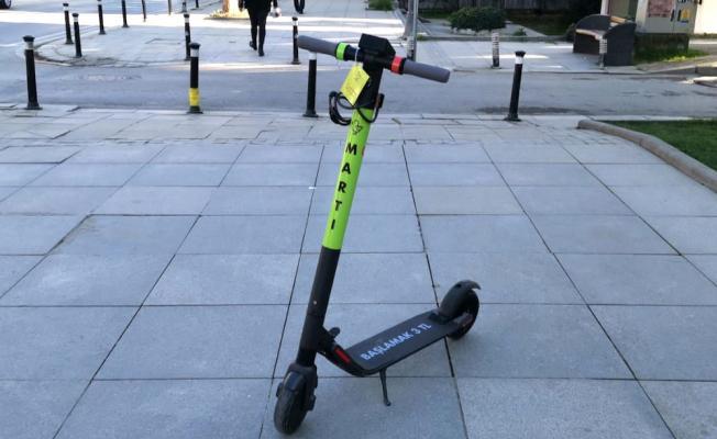 Martı Scooterların Sıradaki Durağı Ankara!