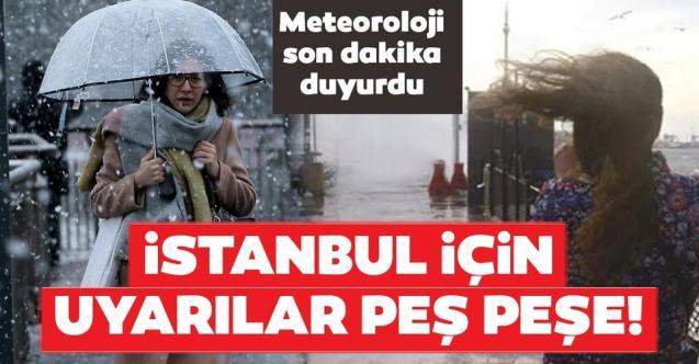 Yarın İstanbul'da Plan Yapacaklara Meteoroloji'den Uyarı!