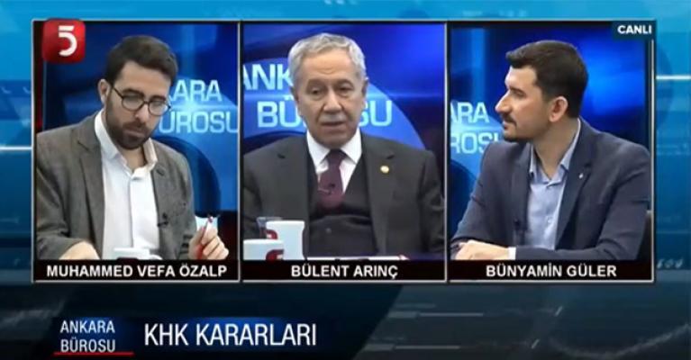 Bülent Arınç'tan olay yaratacak açıklamalar! Erdoğan'a Ali Babacan ve Davutoğlu'na eleştiri uyarısı!