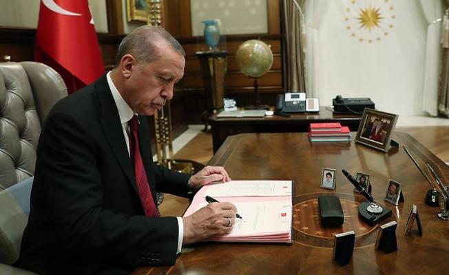 Cumhurbaşkanı Erdoğan onayladı : 13 karar Resmi Gazete'de yayınlandı
