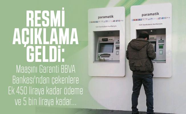 Garanti BBVA Bankası'ndan emekli maaşı alan ve alacak olanlara emekli maaşı promosyon fırsatı: 5 bin liraya kadar...
