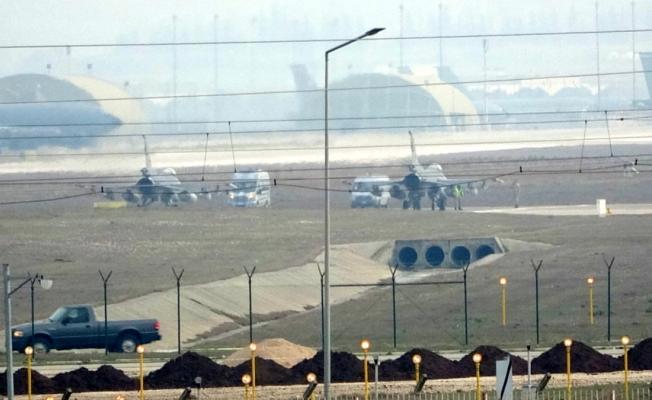 İncirlik'ten iki F-16 uçağı ve bir İHA kalkış yaptı!