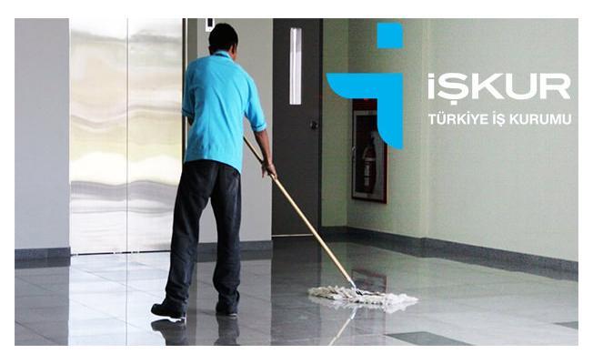 İŞKUR en az ilköğretim mezunu temizlik görevlisi personel alımı yapacağını duyurdu!