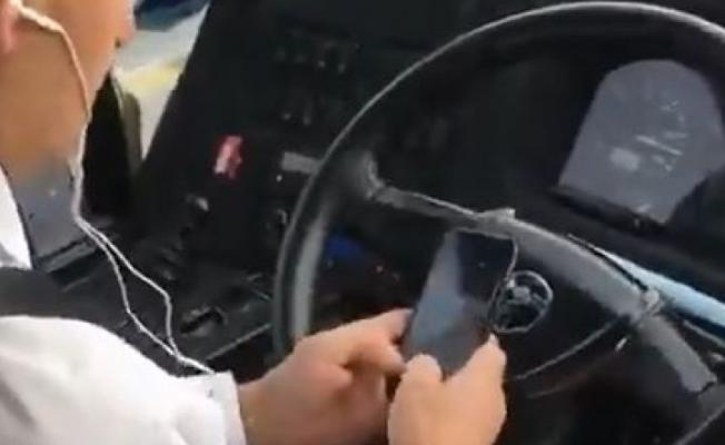 Kamil Koç seyahat firmasının şoförü tüm yolcuların hayatını tehlikeye attı!