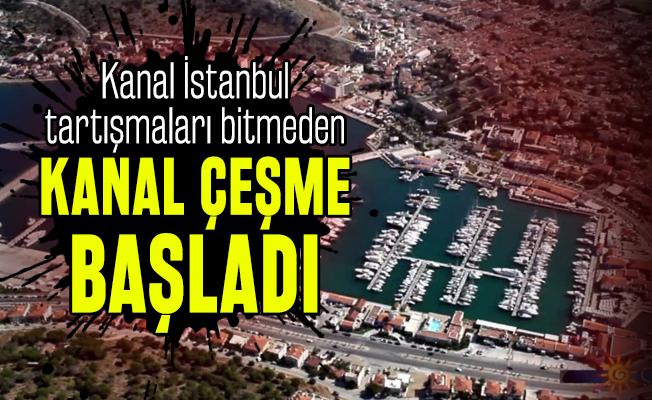 Kanal İstanbul tartışmaları bitmeden Kanal Çeşme başladı: Bakan Ersoy'dan flaş açıklama!