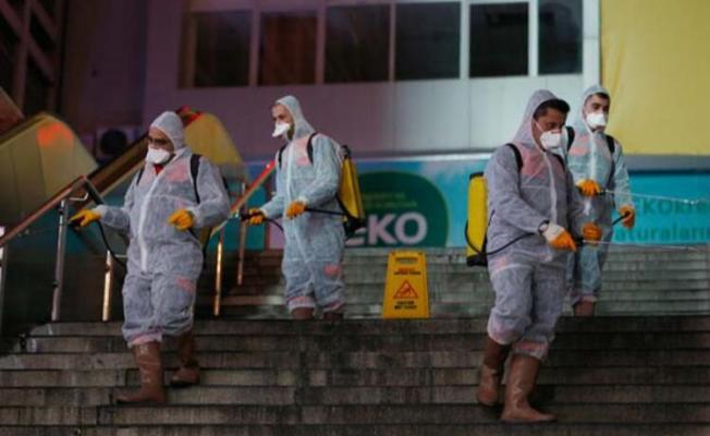 Koronavirüsüne karşı tedbir temizliği başladı! Metro ve istasyonlar dezenfekte ediliyor