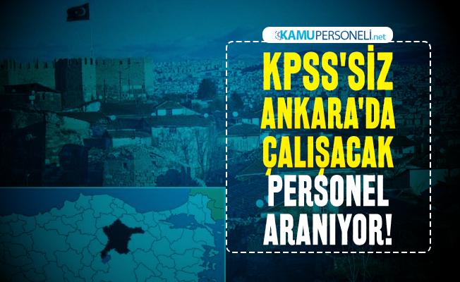 KPSS'siz Ankara'da çalışacak personel aranıyor! Kızılay iş başvuru şartlarını açıkladı