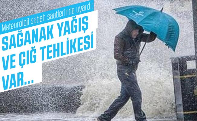Meteoroloji sabah saatlerinde uyardı: Sağanak yağış ve çığ tehlikesi var...