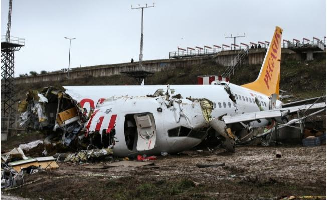 Pegasus uçak kazasındaki yolcular için sigorta sürecini başlattı!