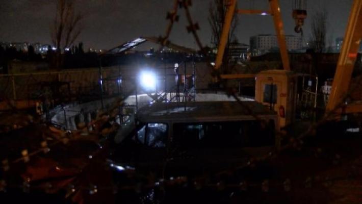 Sabiha Gökçen Havalimanı-Pendik metrosu tünel inşaatında feci kaza! 2'si ağır 4 işçi yaralandı
