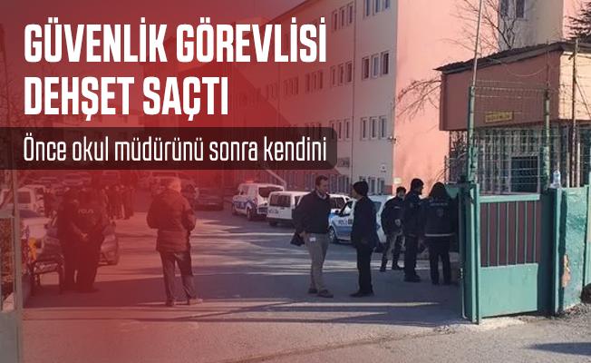 Son dakika Ankara'da güvenlik görevlisi dehşet saçtı!