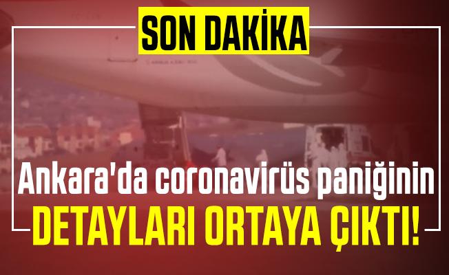 Son dakika Ankara'da coronavirüs paniğinin detayları ortaya çıktı! Sağlık Bakanı Koca açıkladı