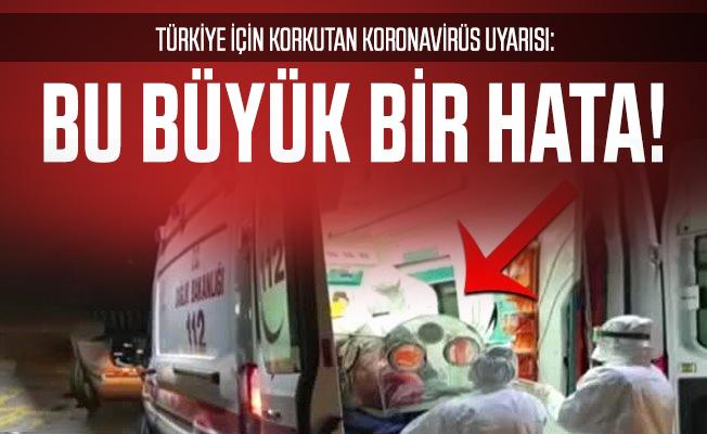 Son dakika DSÖ'den korkutan Türkiye için koronavirüs uyarısı: Bu büyük bir hata olur!