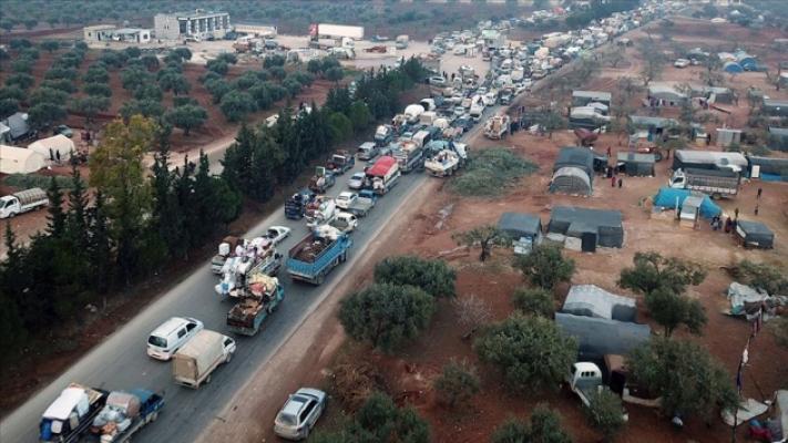 Suriye'den Türkiye'ye göç hızlanıyor!