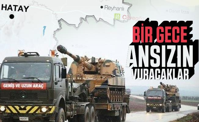 Tanklar sınıra doğru yola çıktı: Bir gece ansızın vuracaklar!