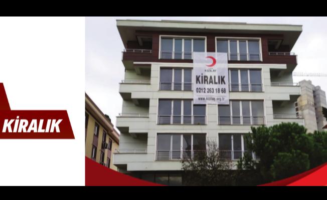 Kızılay tarafından İstanbul Kadıköy'de bulunan bina kiraya verilecek!